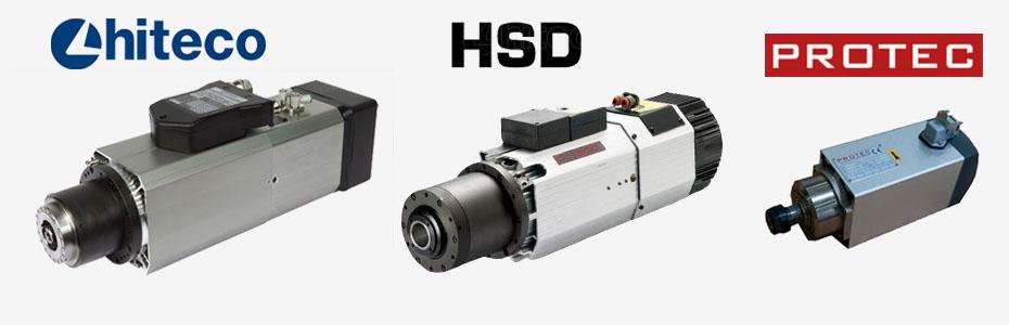 Hiteco Spindel Motor, HSD Spindel Motor,  PROTEC Spindel Motor