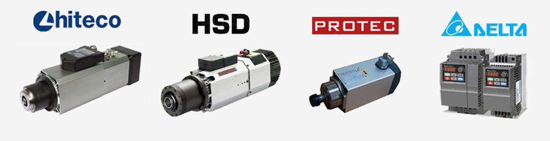 Hiteco Spindle, HSD Spindle,  Protec Spindle, Delta H�z Kontrol