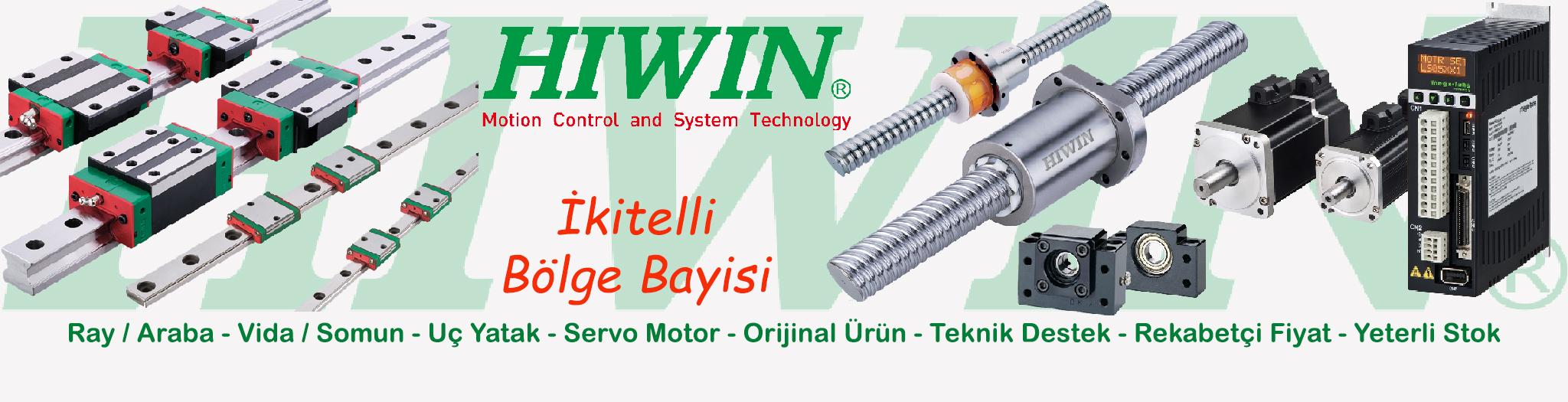 Hiwin Linear and Hiwin Mikrosystem �kitelli B�lge Bayisi