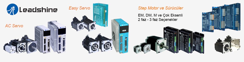 Sega CNC Otomasyon, Leadshine T�rkiye Distrib�t�r�