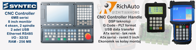 Sega CNC Otomasyon, SYNTEC ve RichAuto CNC Controller