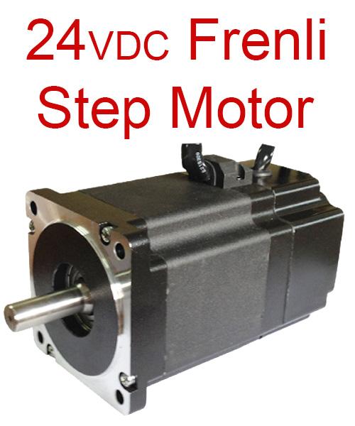24VDC Frenli Step Motor ve Frenli Hybrid Servo Motor