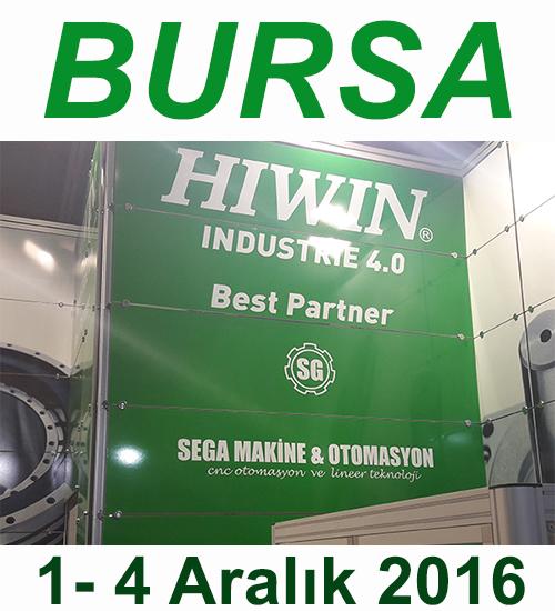 2016 Bursa Makina Fuarı