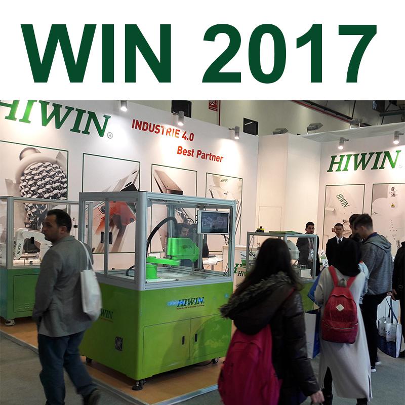 HIWIN Win 2017 fuarına katıldı