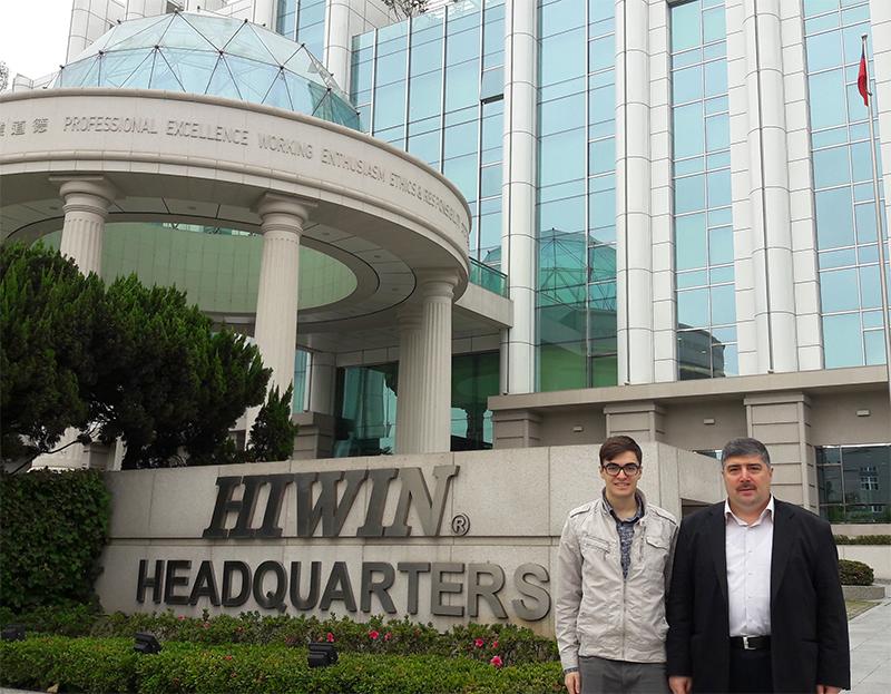 Hiwin Tayvan Tesislerini Gezdik