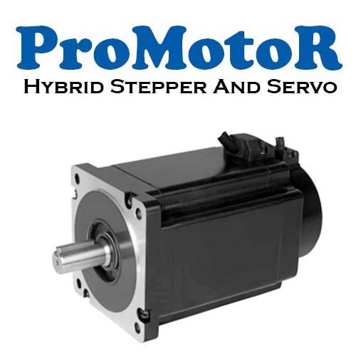 Promotor Hybrid Step ve Servo Motor
