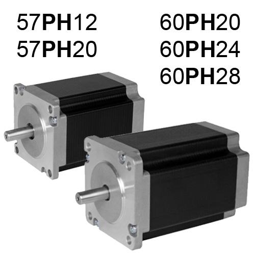 57PH, 60PH Serisi Step Motor