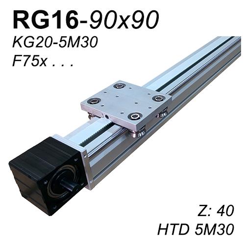 RG16-90x90 Lineer Modül