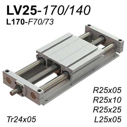 LV25-170 Lineer Vidalı Modül