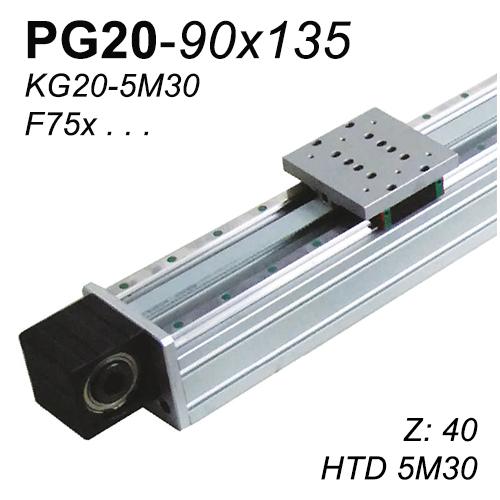 PG20-90x135 Lineer Modül