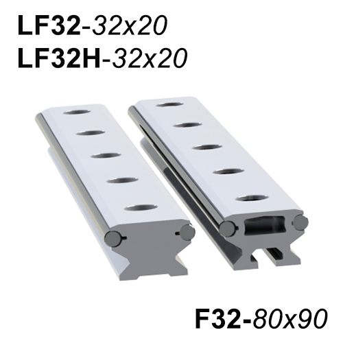 LF32 - LF32H Lineer Ray