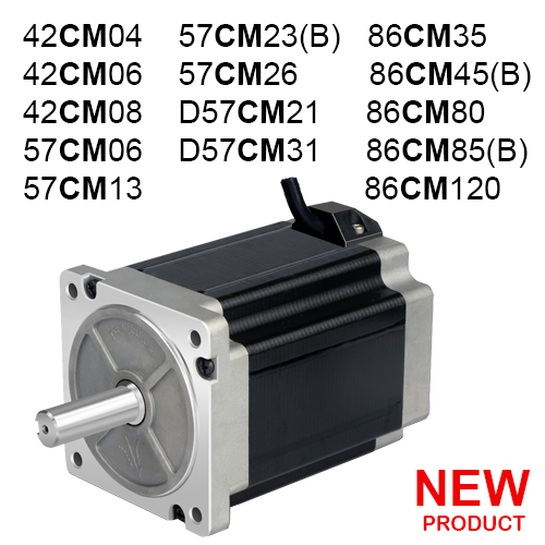 2 Fazlı (CM) Step Motor