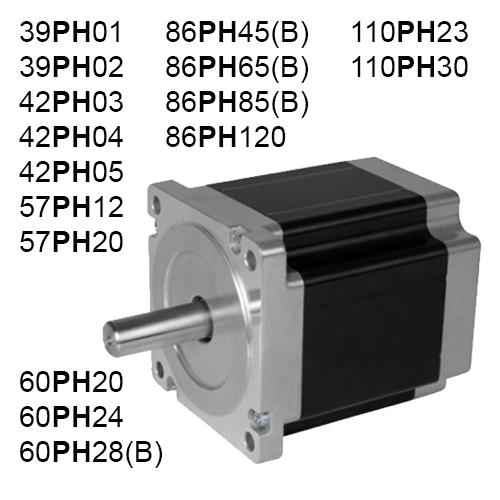 2 Fazlı (PH) Step Motor