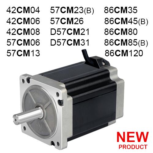 2 Fazlı (CM) Step Motorlar