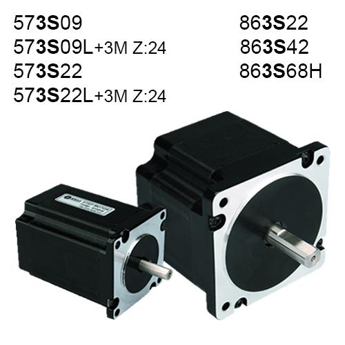 3 Fazlı (3S) Step Motorlar